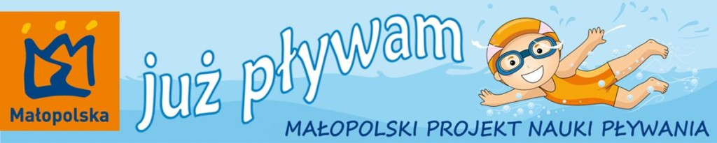 "Logo programu ""Już pływam"""