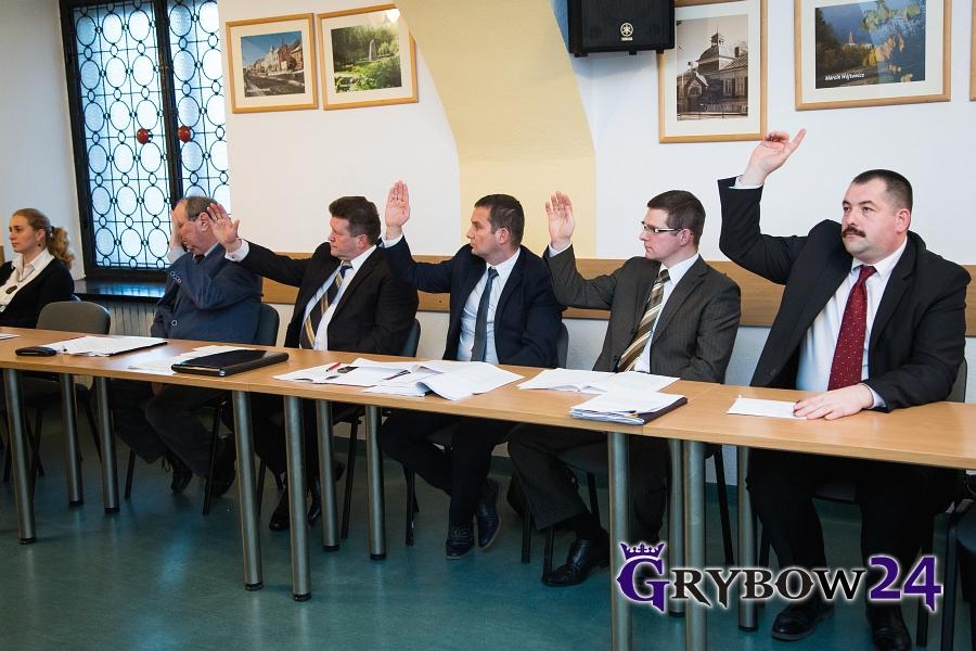Grybow24.pl: XVII Sesja Rady Miejskiej wGrybowie