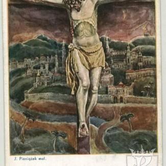 Grybów. Łaskami słynący wizerunek Pana Jezusa (rzeźba z XV wieku)