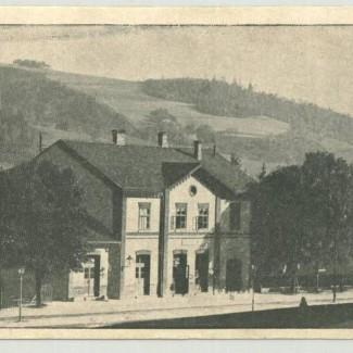 Grybów. Stacja kolejowa