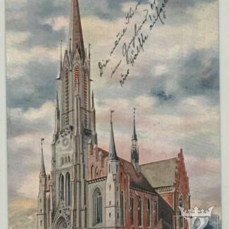 Grybów. Ofiara na nowy Kościół