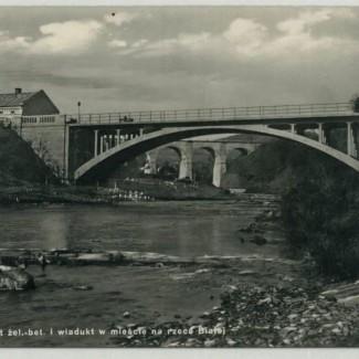 Grybów. Most żelazowo-betonowy