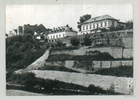 Grybów. Fragment miasta