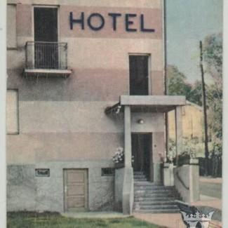 Grybów. Hotel