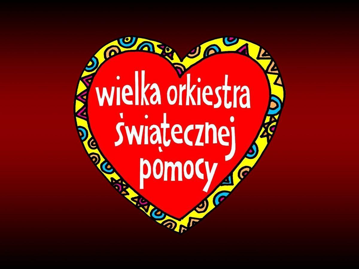 Logo - Serduszko WOŚP