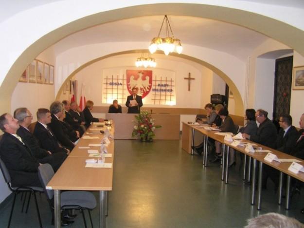 Sądeczanin: I Sesja Rady Miejskiej w Grybowie