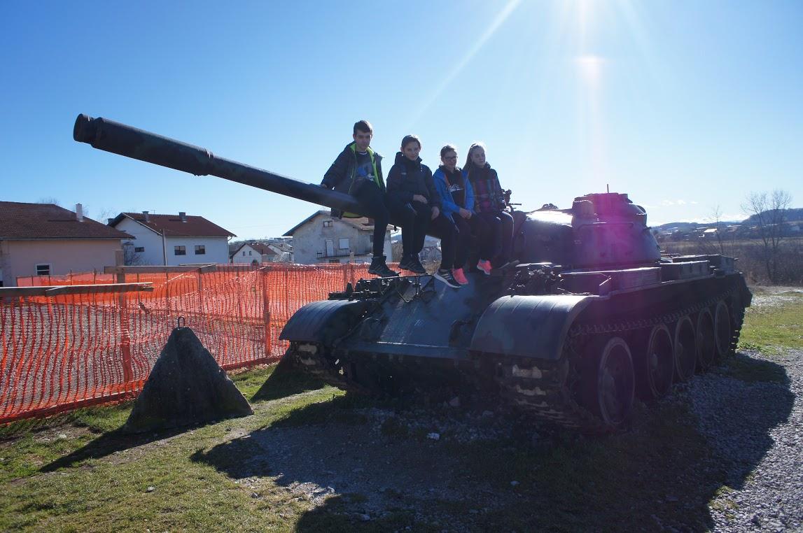 2016-02-13/14: UKS Gladiator naPucharze Europy wChorwacji