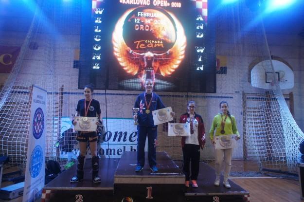 2016-02-13/14: UKS Gladiator na Pucharze Europy w Chorwacji