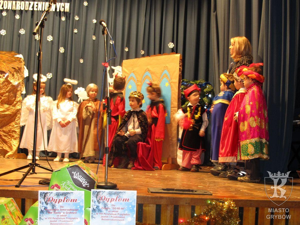 2016-01-31: VIII Parafialny Przegląd Jasełek iPrzedstawień Bożonarodzeniowych
