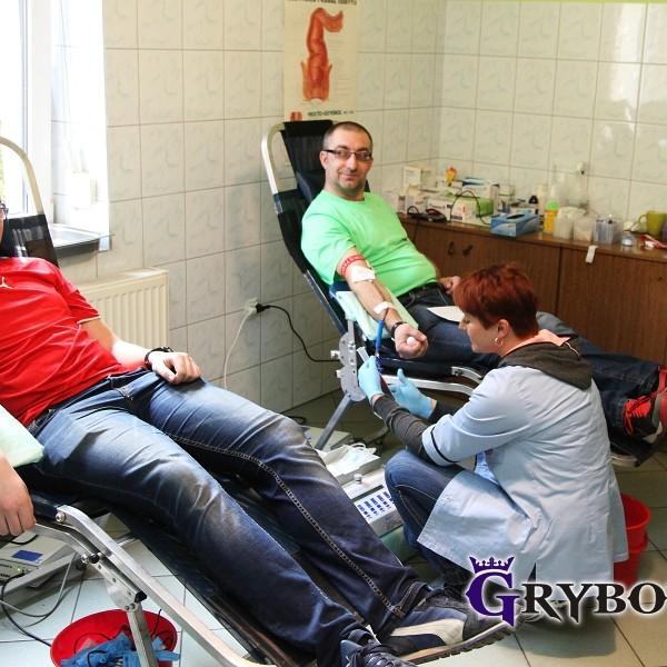 2016-02-07: Grybow24.pl - Akcja honorowego oddawania krwi