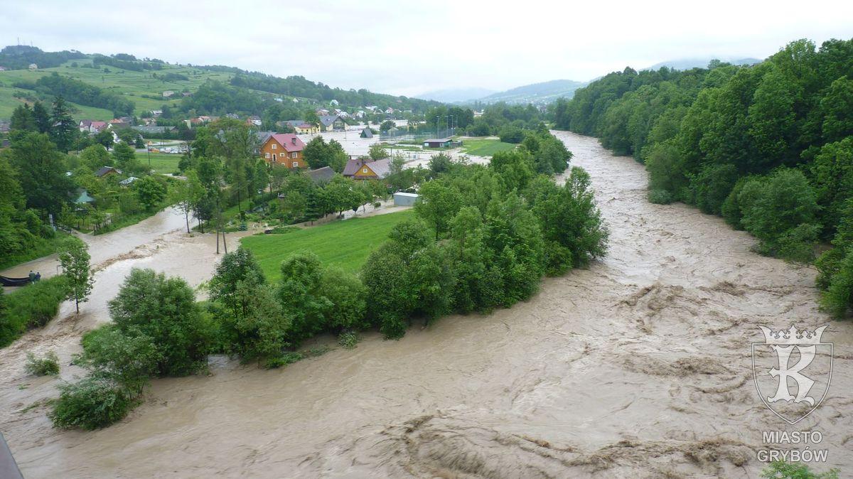 Powódź w Grybowie (rok 2010)
