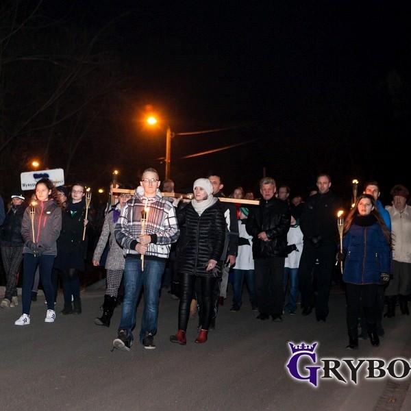 2016-03-18: Grybow24.pl - Droga Krzyżowa ulicami miasta Grybowa