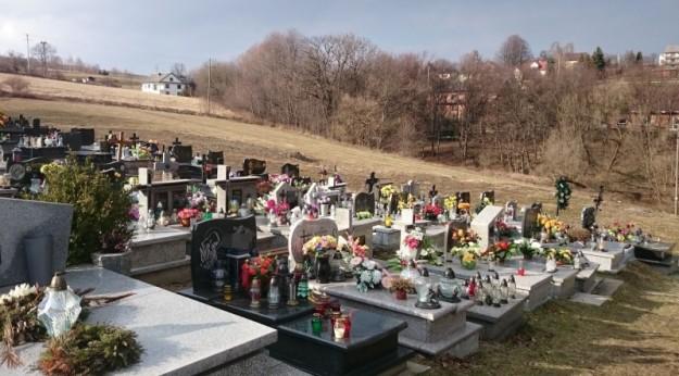 Kierunek rozbudowy grybowskiego cmentarza