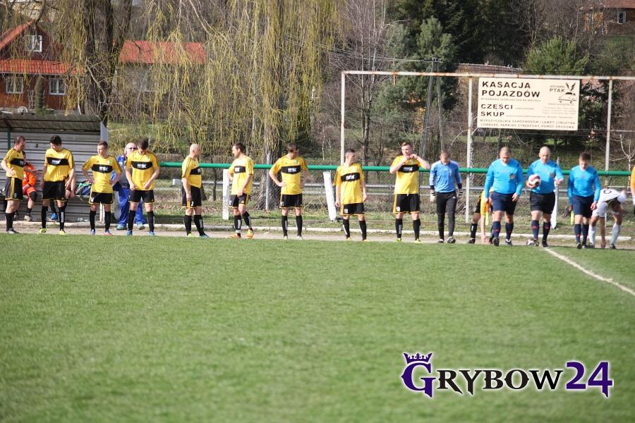 2016-04-03: LKS Grybovia Grybów - LKS Górka Szczereż 2:1