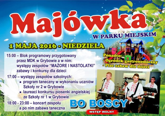 Majówka - Plakat