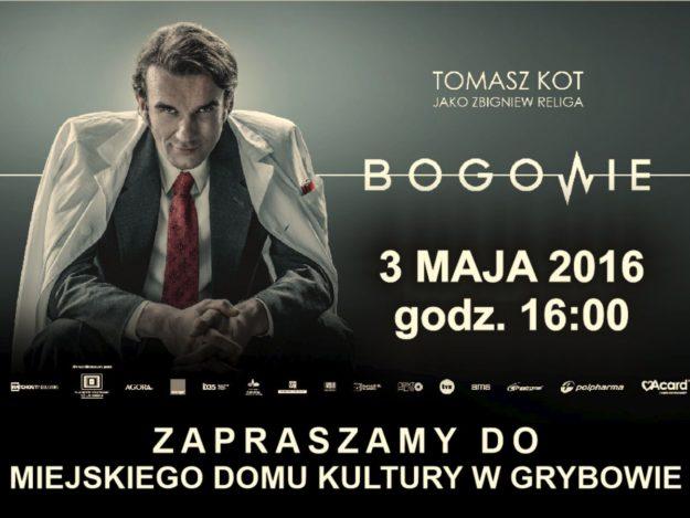 """Plakat """"Bogowie"""""""