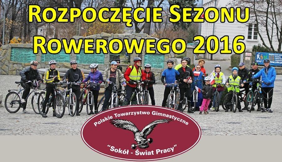 Plakat: Otwarcie sezonu rowerowego
