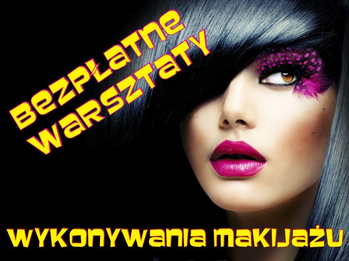Bezpłatne warsztaty wykonywania makijażu