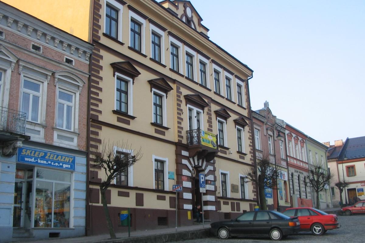 Budynek LO wGrybowie