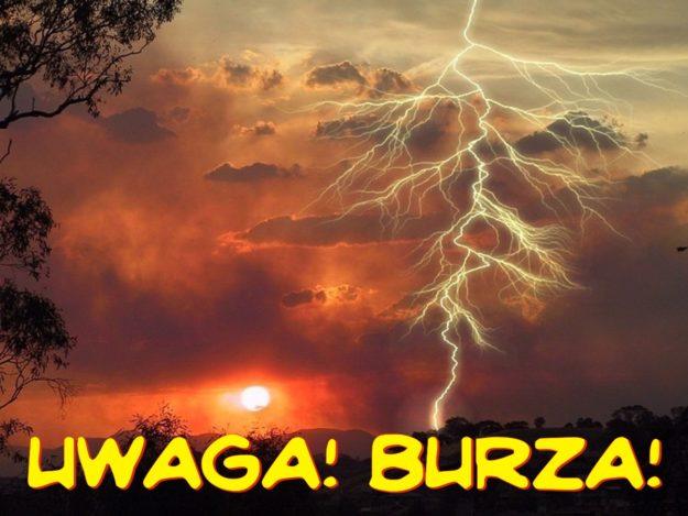 Komunikat: Uwaga burza