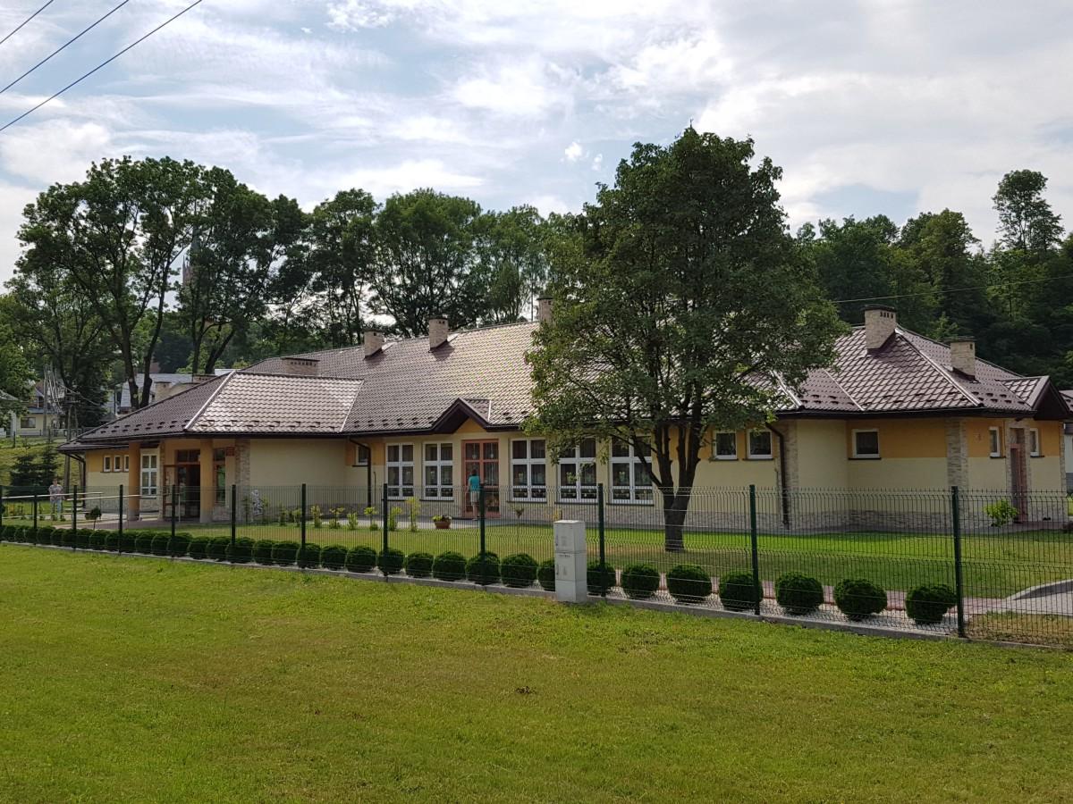 Budynek Przedszkola Samorządowego POD TOPOLĄ w Grybowie
