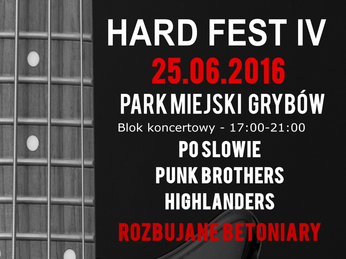 IV edycja festiwalu HARD FEST