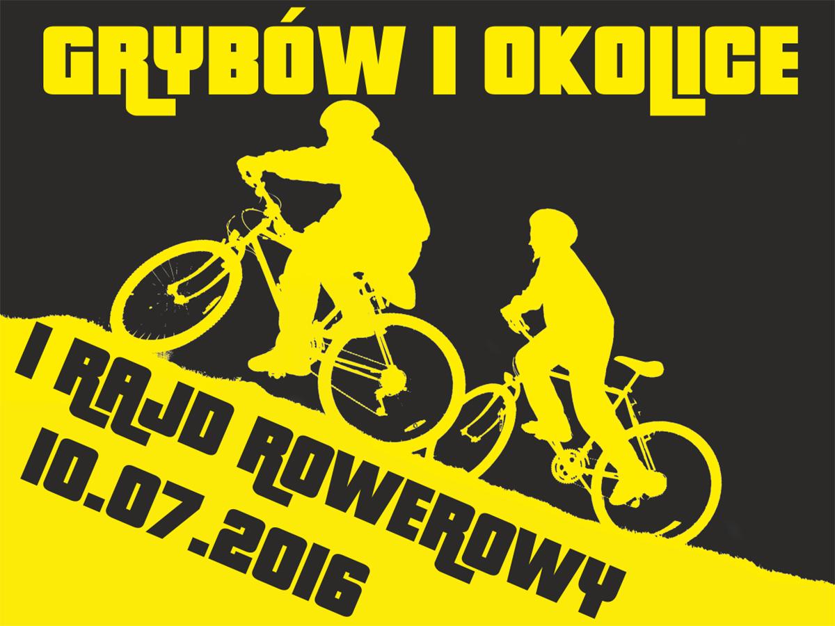 """I Rajd rowerowy """"Grybów i okolice"""""""