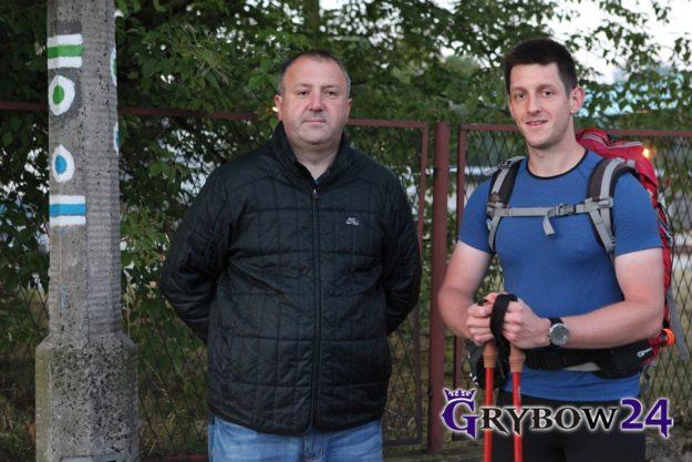 Grybow24.pl: Niebieski Karpacki szlak - start ultramaratończyka
