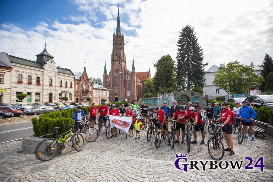 """Grybow24.pl: IRajd Rowerowy """"Grybów iokolice"""""""