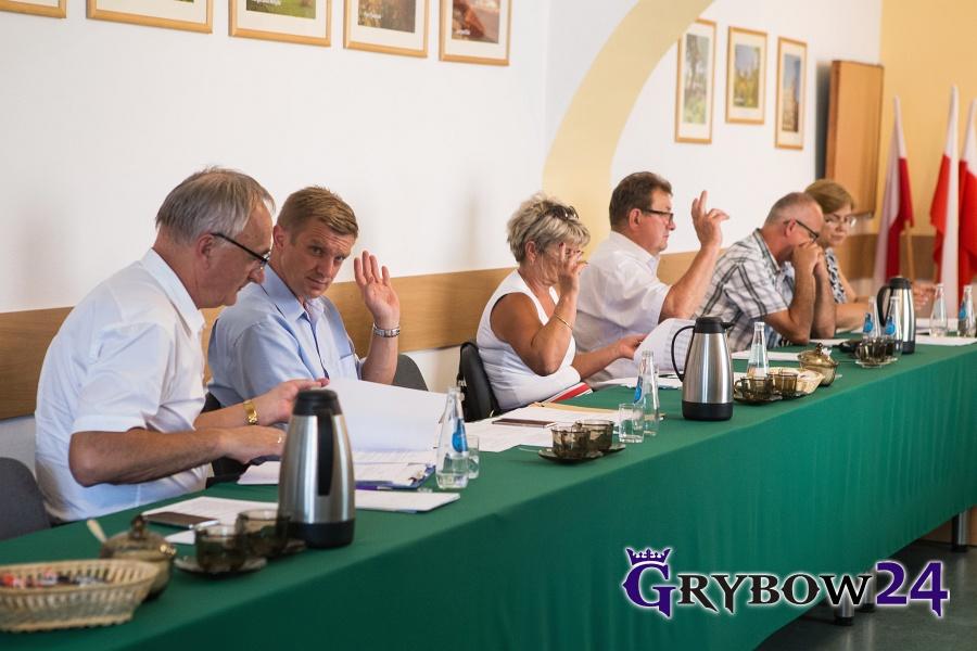 Grybow24.pl: XXV Sesja Rady Miejskiej w Grybowie