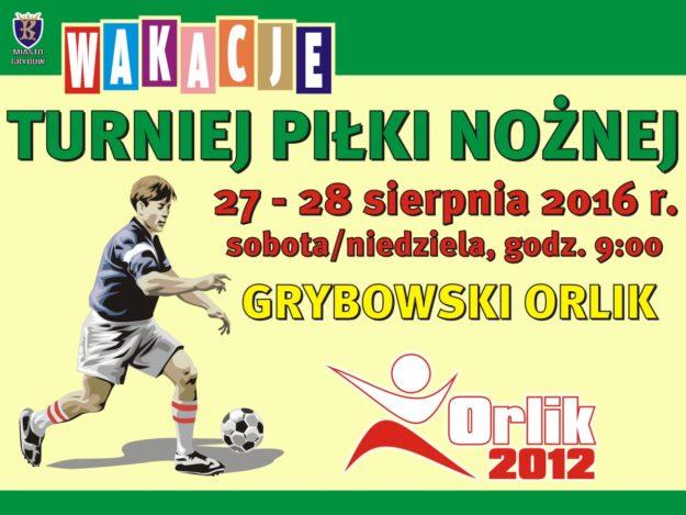 Orlik: Turniej pilki nożnej