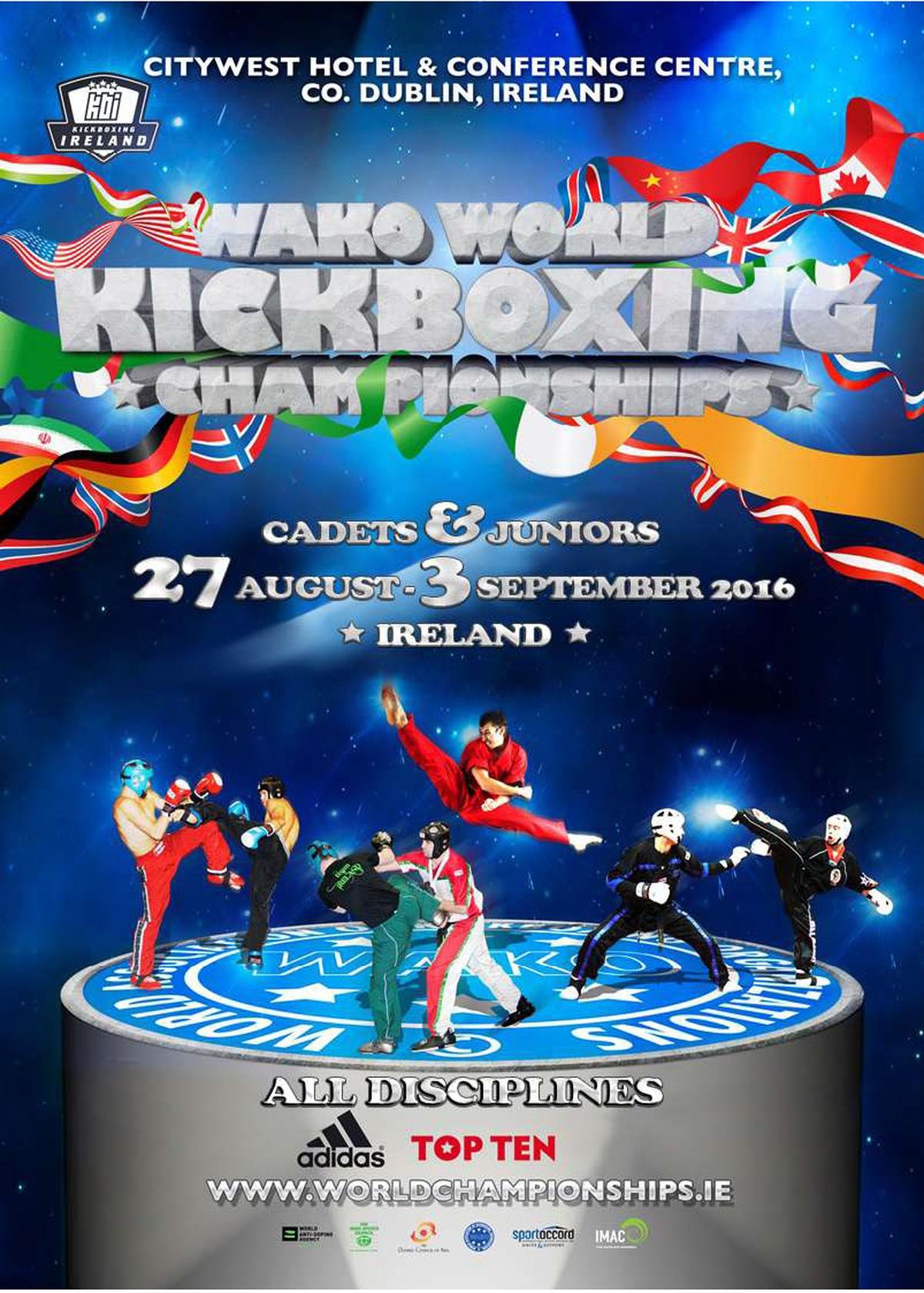 Mistrzostwa Świata wKickboxingu - Irlandia 2016