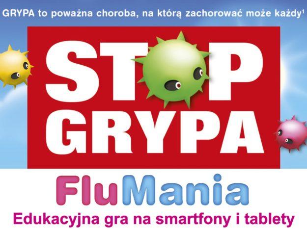 FluMania: Edukacyjna gra na smartfony i tablety