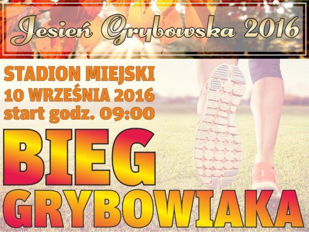 Jesień Grybowska 2016: Bieg Grybowiaka