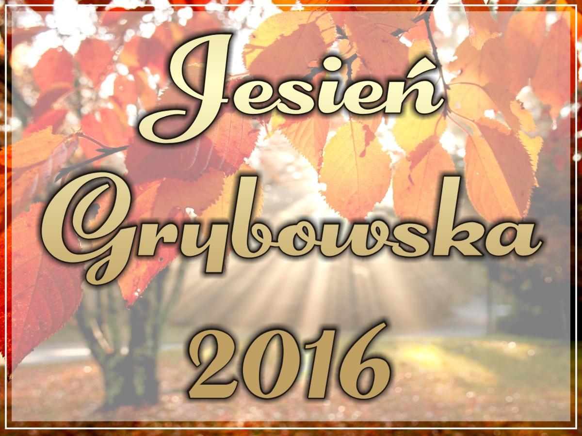 Jesień Grybowska 2016: Harmonogram imprezy
