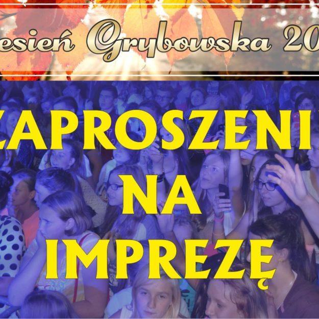 Jesień Grybowska 2016: Zaproszenie na imprezę