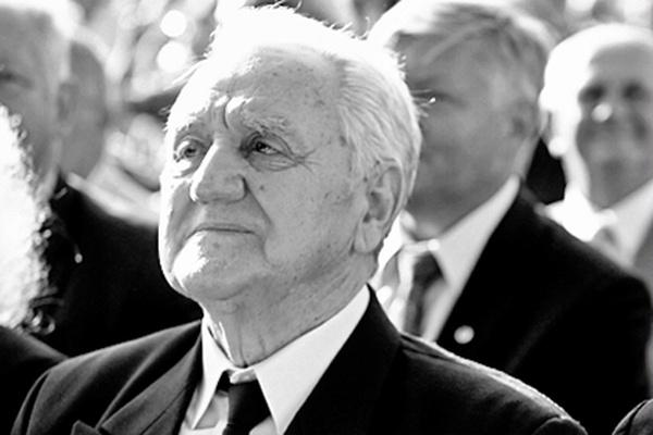 śp. Kazimierz Bandyk podczas ubiegłorocznej Jesieni Grybowskiej