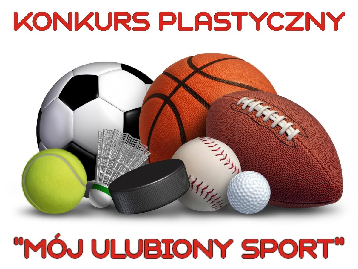 """Konkurs plastyczny """"Mój ulubiony sport"""""""