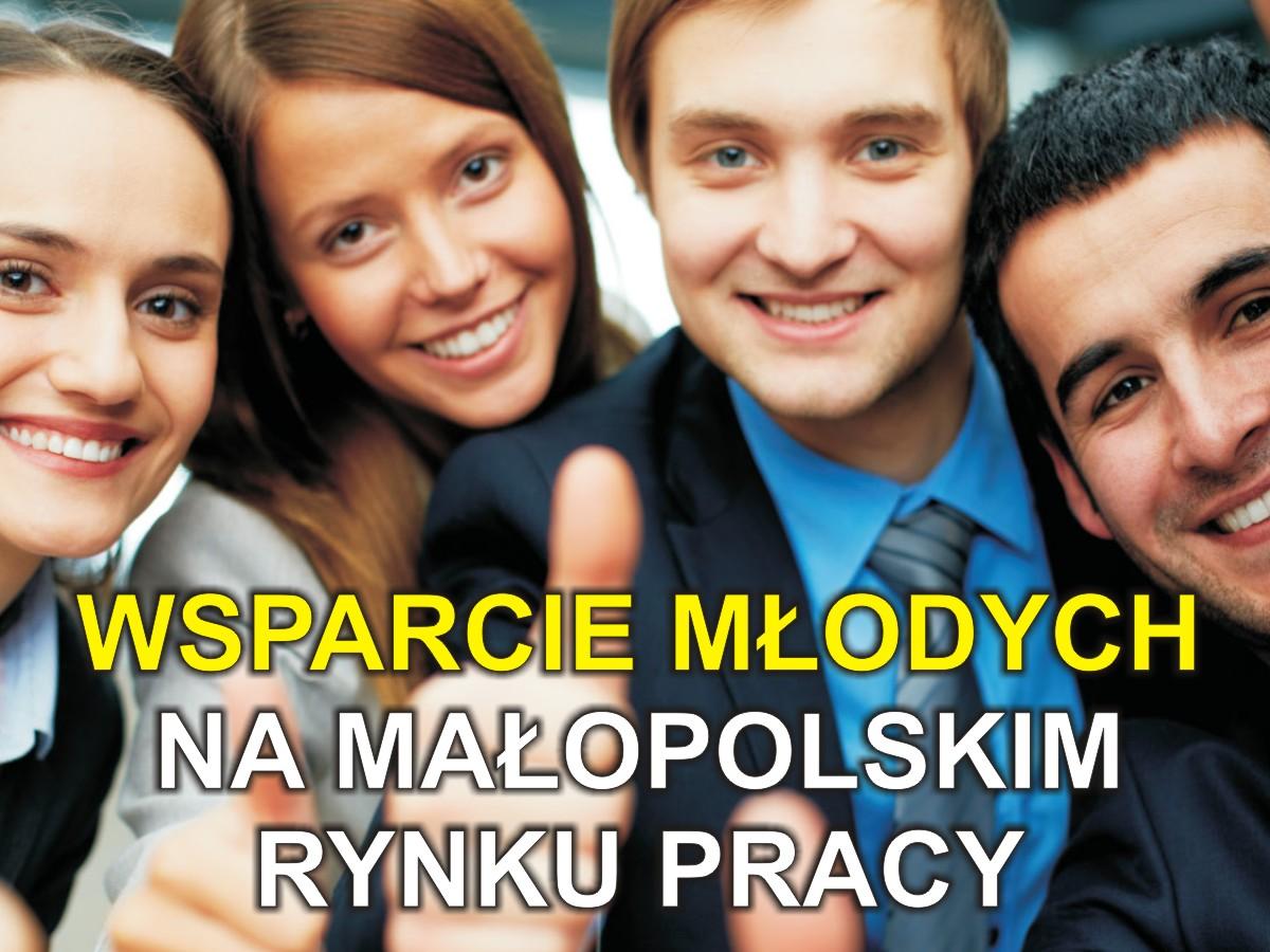 """Projekt """"Wsparcie młodych na małopolskim rynku pracy"""""""