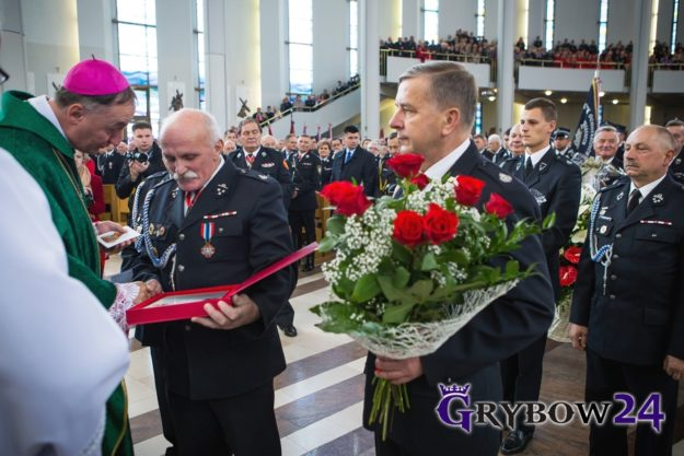 2016-10-09: XV Wojewódzka Pielgrzymka Strażaków do Łagiewnik