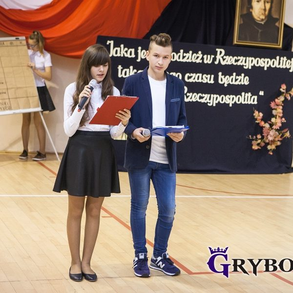 2016-10-04: Ślubowanie pierwszoklasistów w Gimnazjum