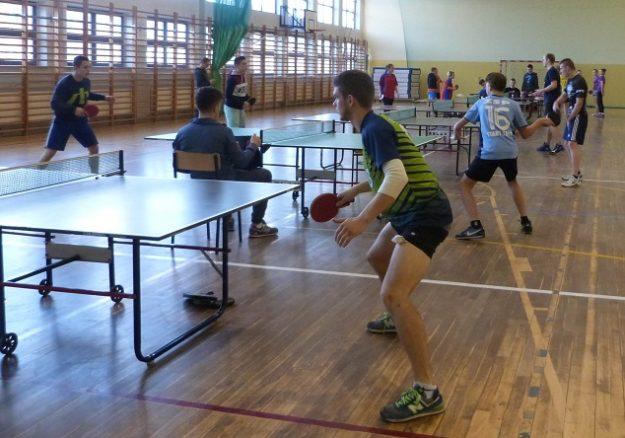 Mistrzostwa Powiatu Nowosądeckiego - Turniej drużynowego tenisa stołowego