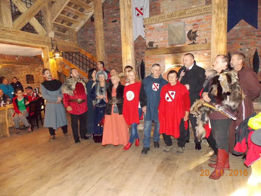 Koło Grodzkie PTTK podsumowało sezon turystyczny na zamku Stara Baśń