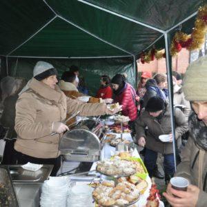 2016-12-18: II wigilia na Rynku w Grybowie
