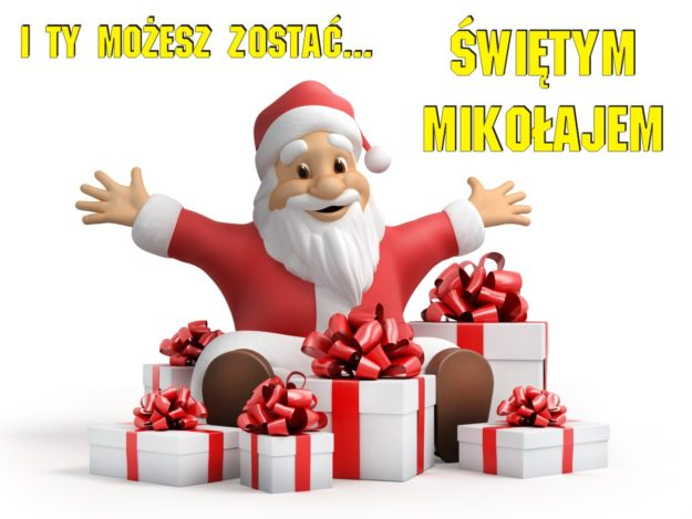 """Akcja """"Zostań Świętym Mikołajem"""""""
