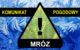 Komunikat pogodowy: MRÓZ