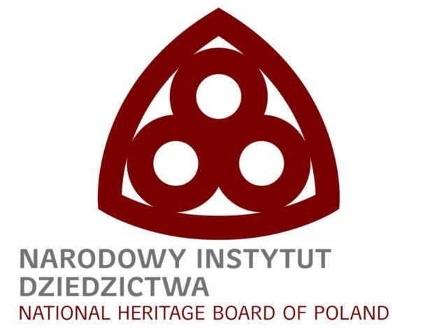 """Logo """"Narodowy Instytut Dziedzictwa"""""""