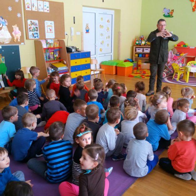2017-01-09: Zimowe spotkanie z leśniczym w przedszkolu