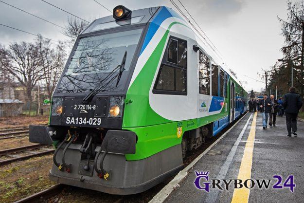 Czy Grybów zyska połączenie kolejowe do Jasła?