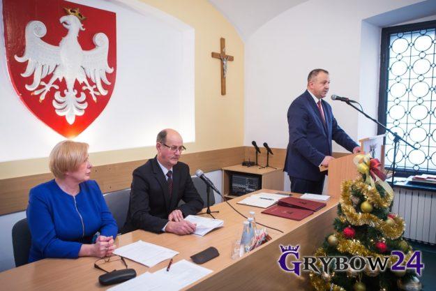 2016-12-20: XXX Sesja Rady Miejskiej w Grybowie
